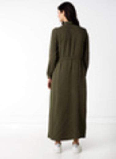 DeFacto Elbise Yeşil